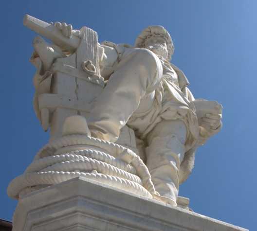 Estatua en Getaria
