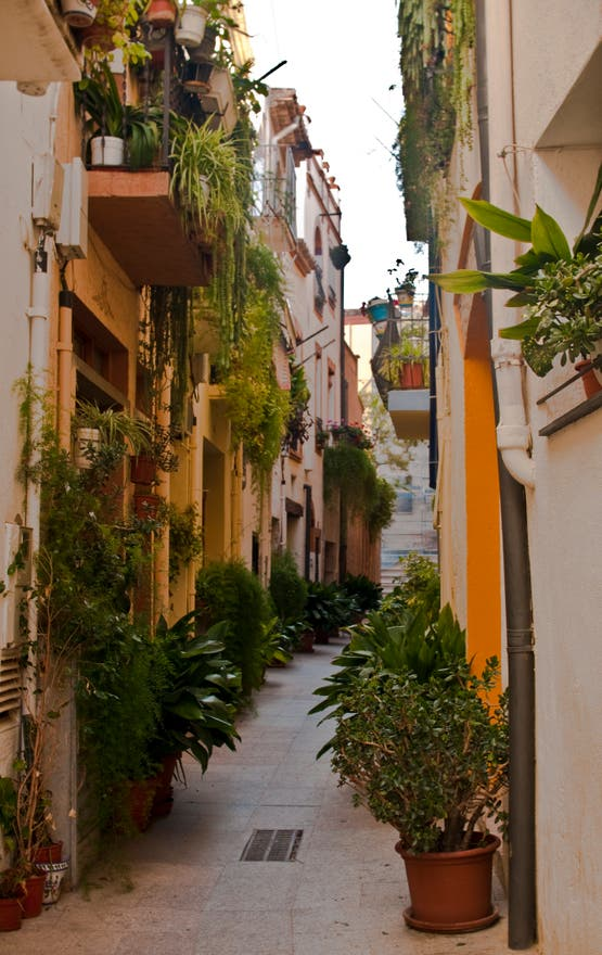 Street in Cambrils