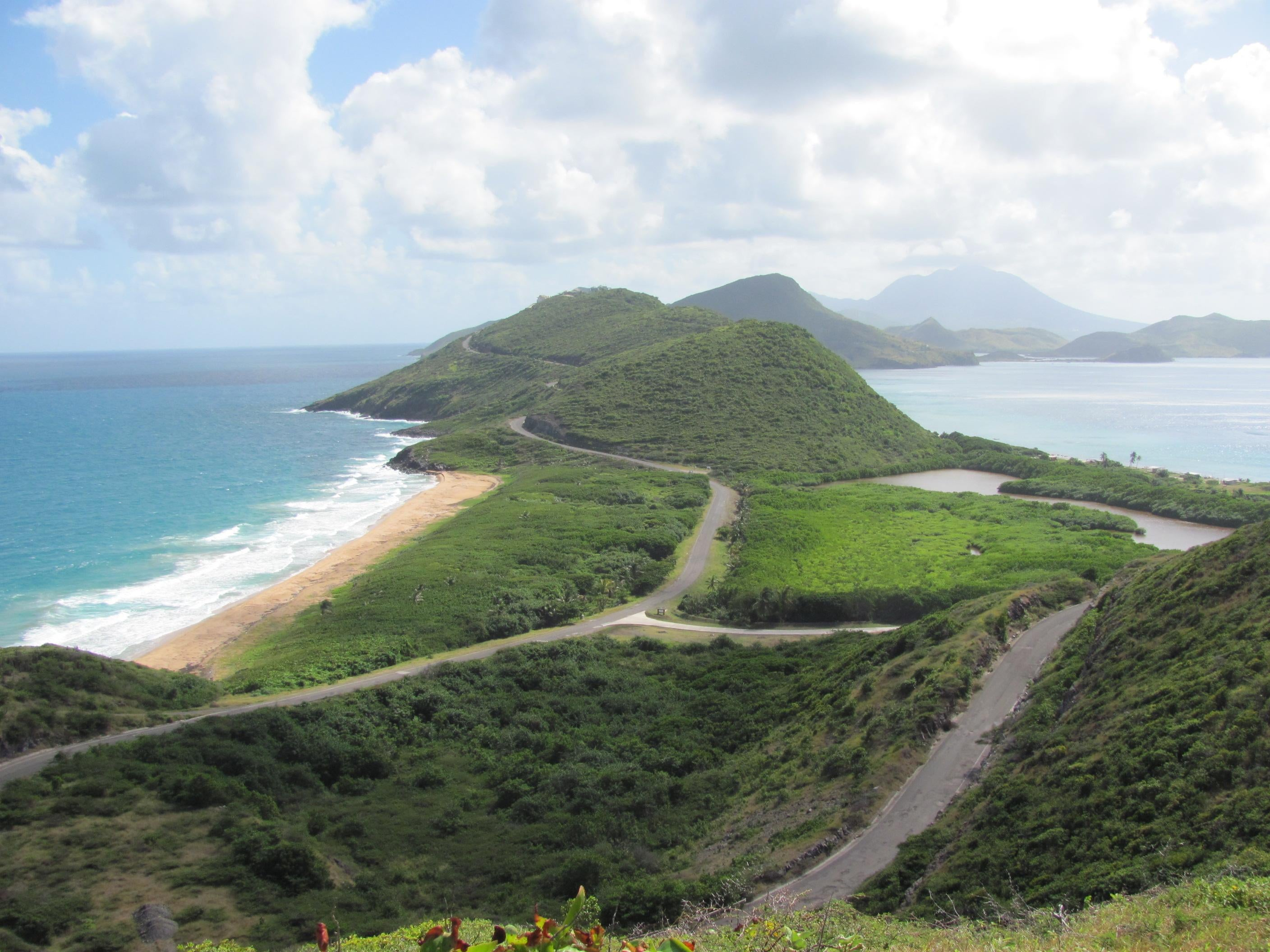 Coast in Saint Kitts and Nevis