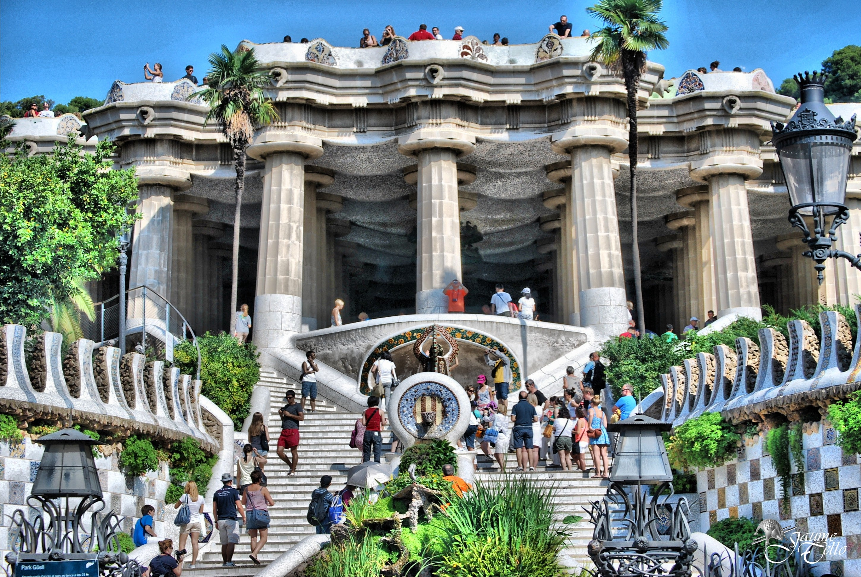 Ancient History in Park Güell