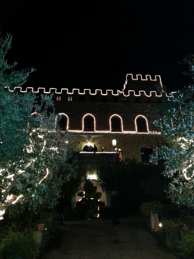 Night in Formia