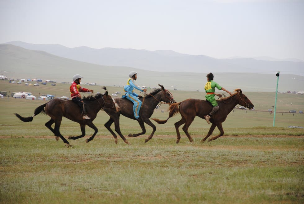 Horse Racing in Ulan Bator