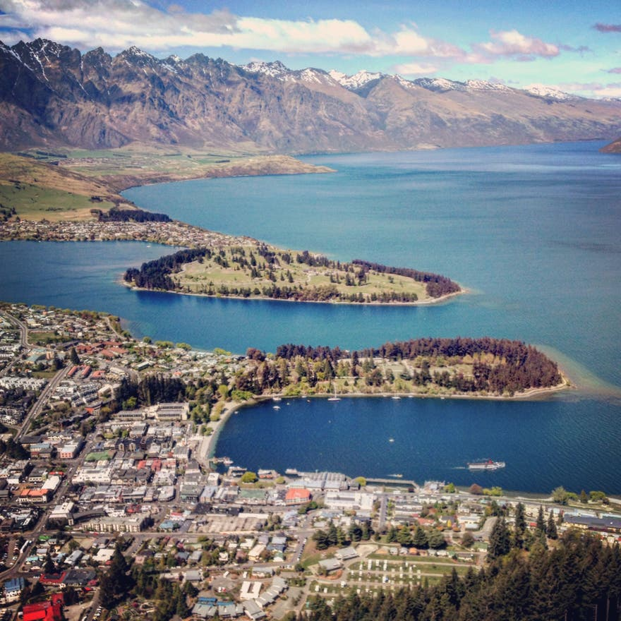 Cala en Skyline Queenstown