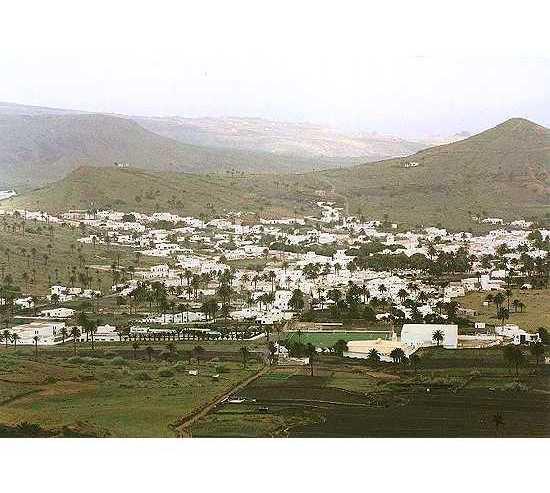 Llanura en Haría