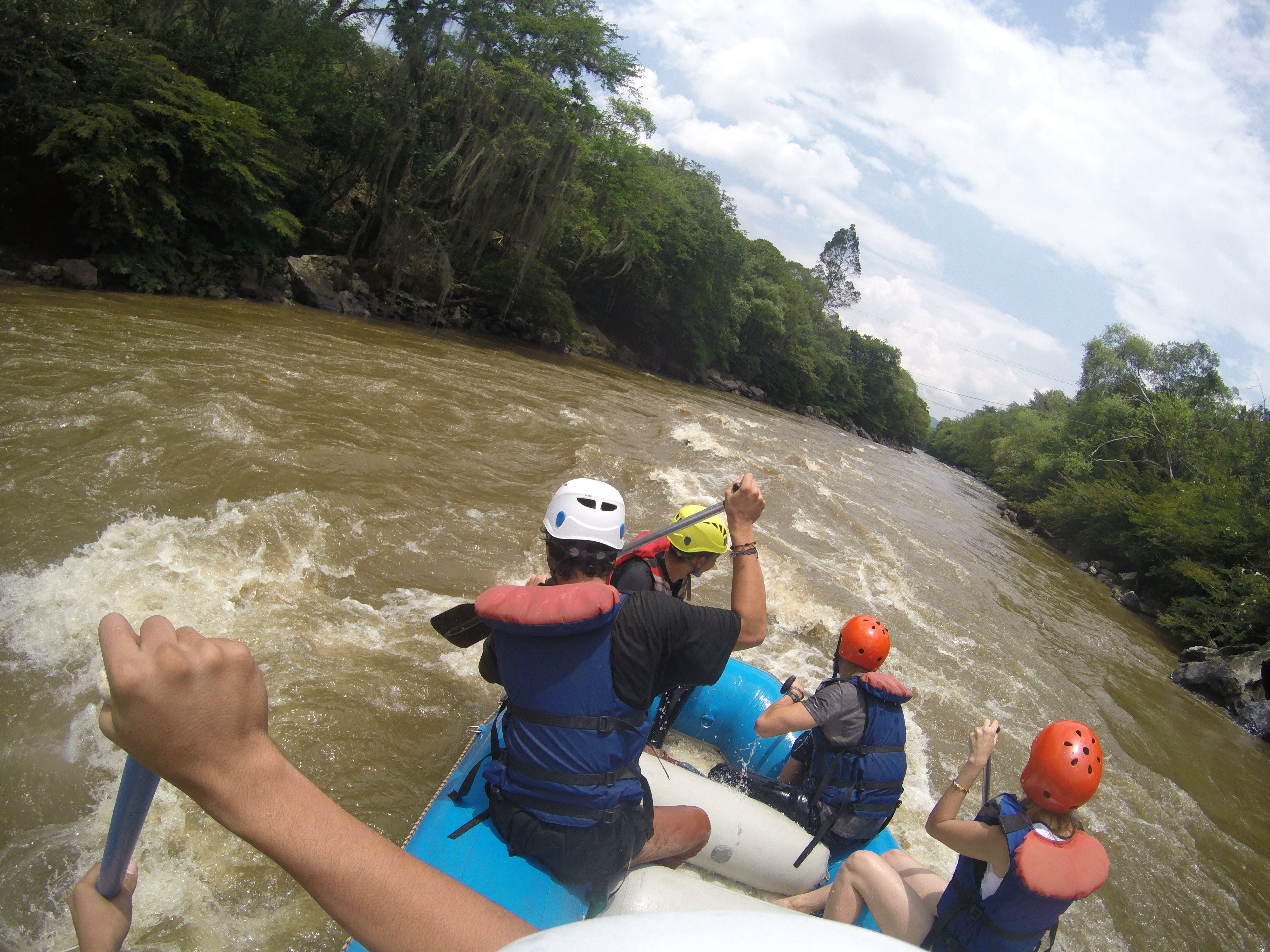Boating in Ecolombia experience