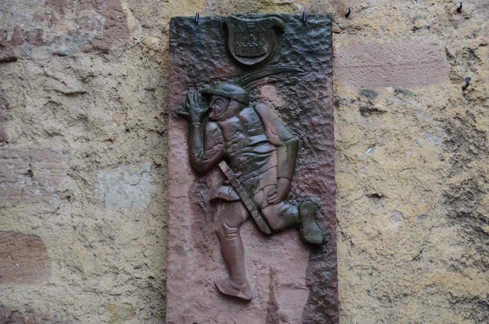Relief in Bergheim
