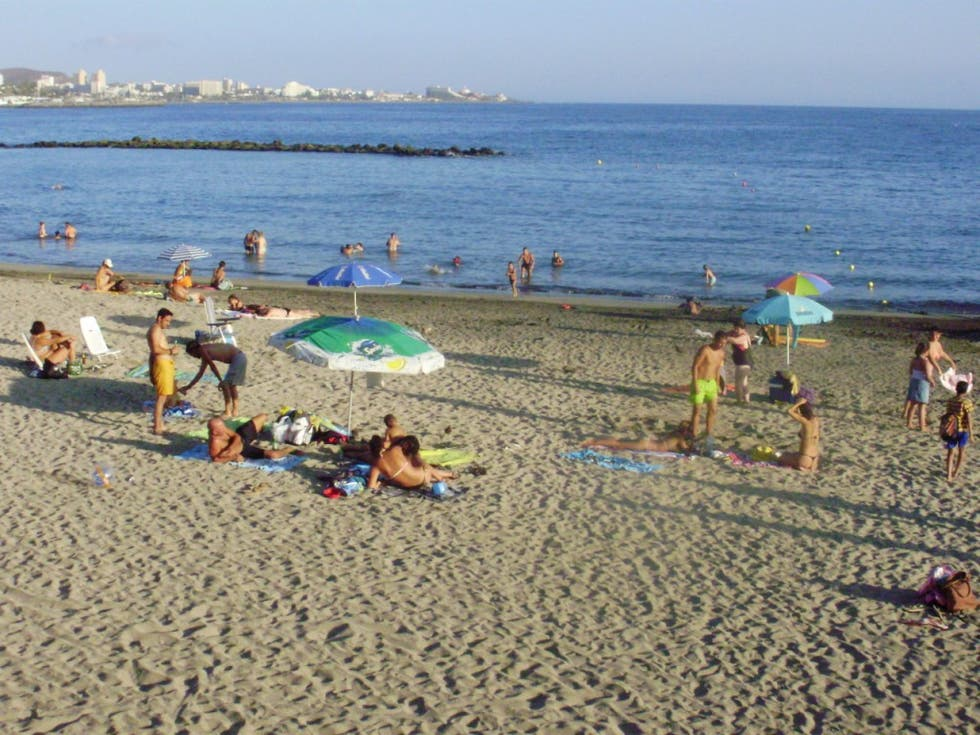 Orilla en Playa del Duque