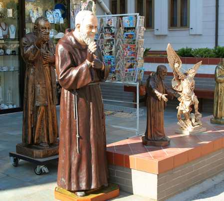 Estatua en San Giovanni Rotondo