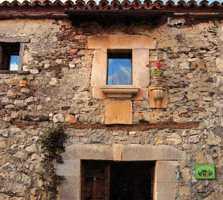 Pared de piedra en Casa Rural Valdicimbrio