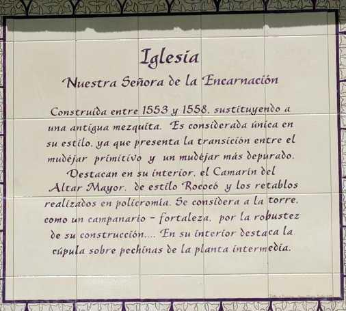 Manuscrito en Cútar
