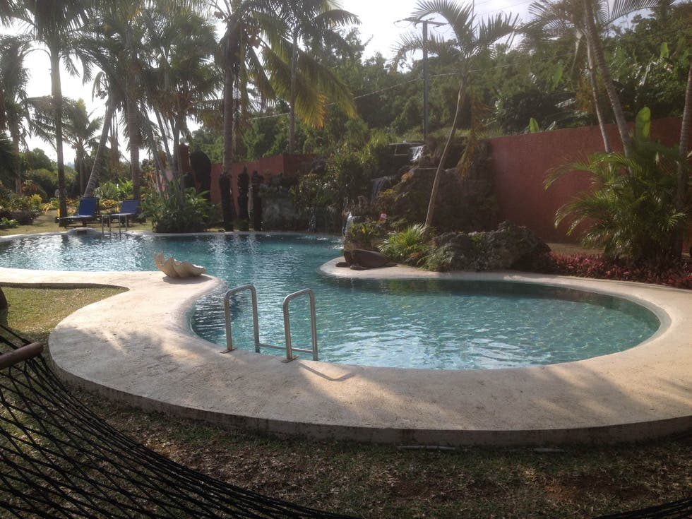 Piscina en Sunset Bungalows Resort