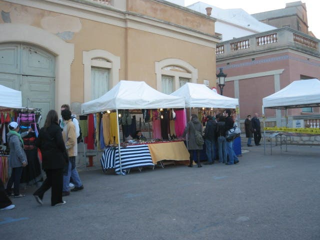 Bancarella a Crafts Fair