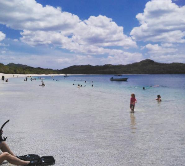 Lago em Brasilito