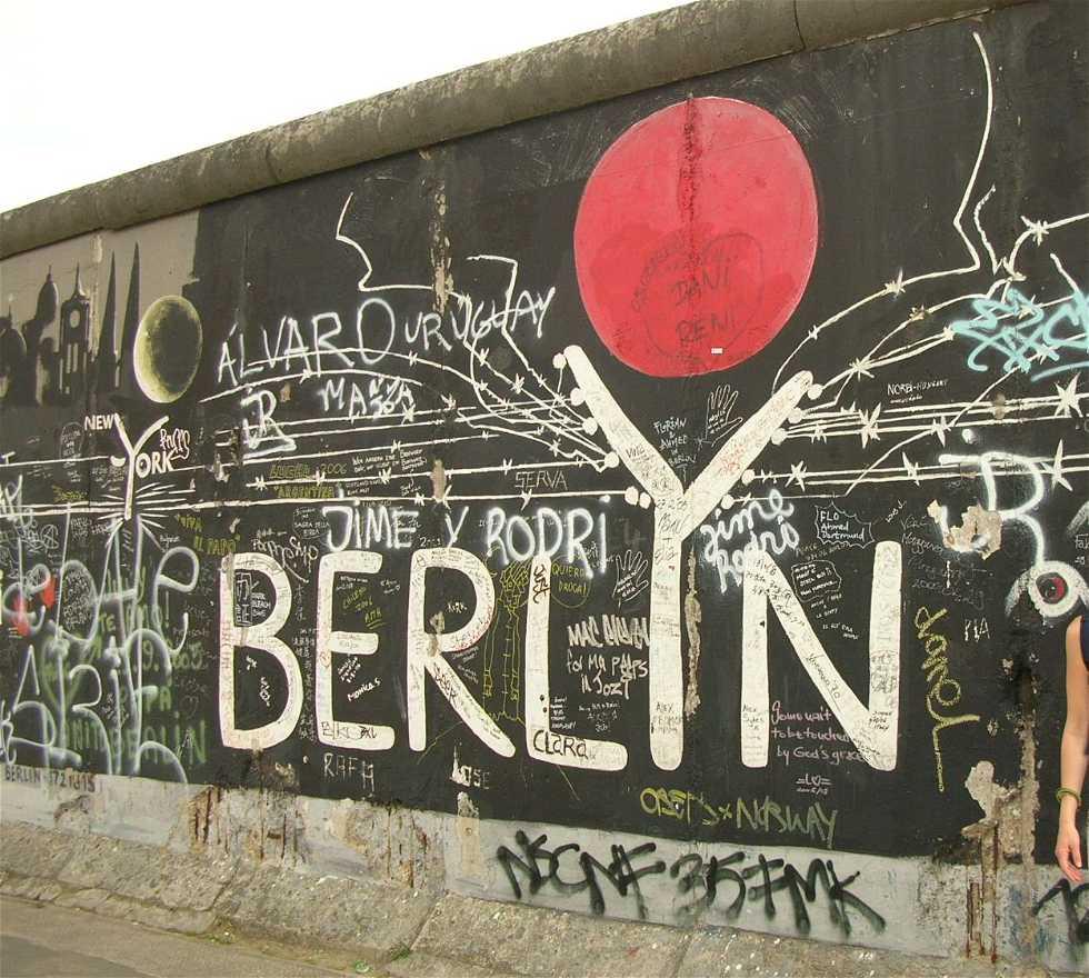 Señal en Graffitis en Berlín