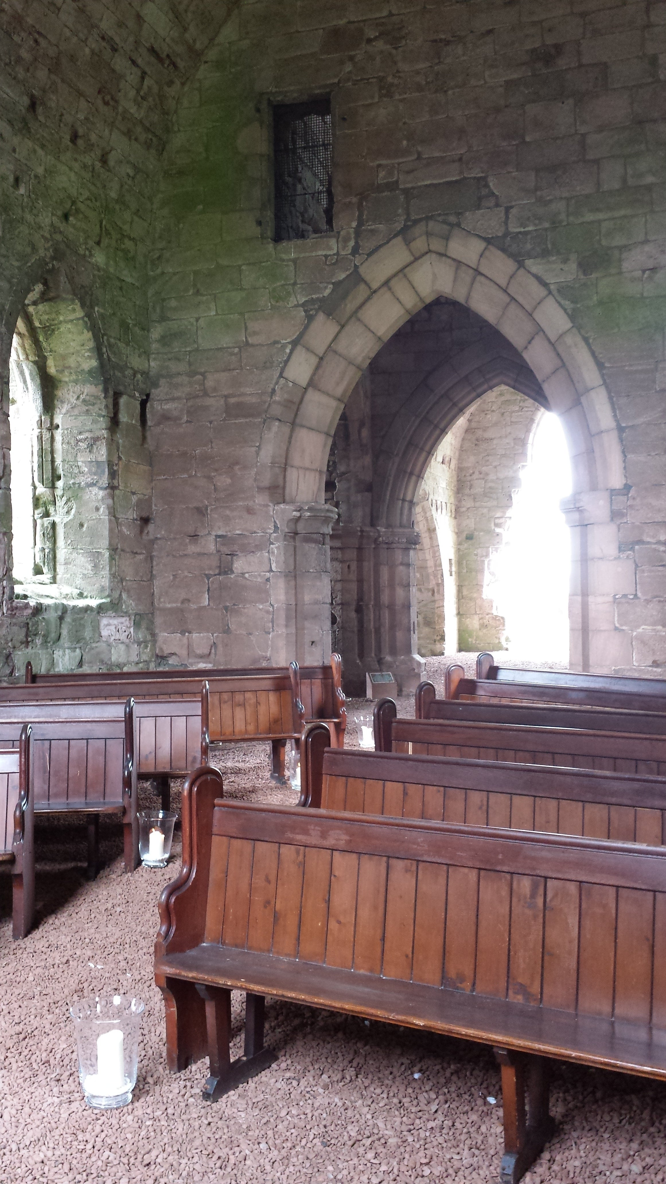 Stall in Dunglass Collegiate Church