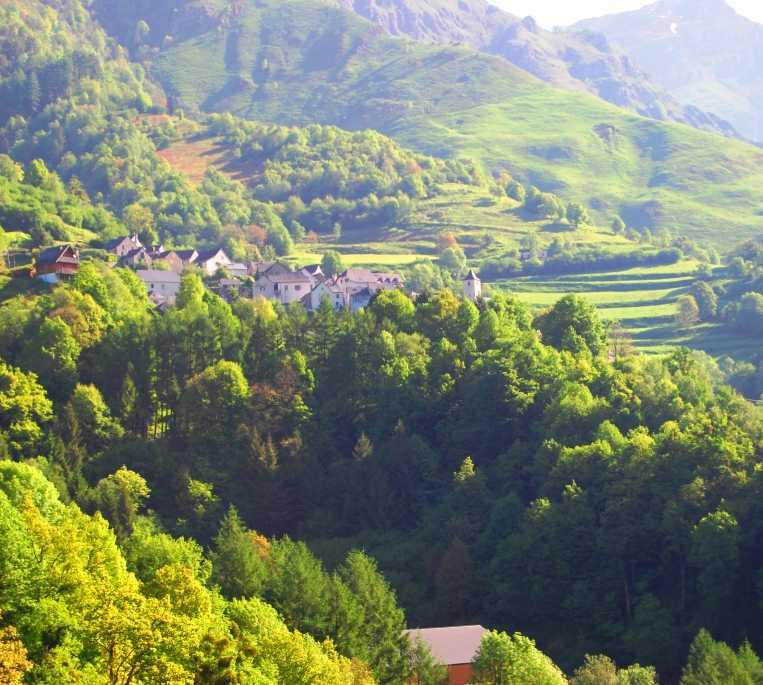 Pueblo en Aydius (Valle de Aspe)