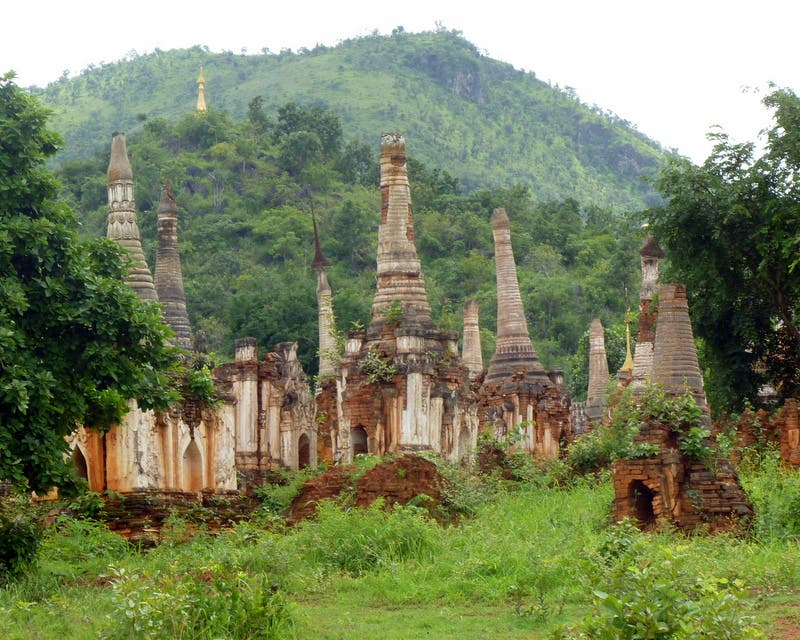 Jungla en Ruinas de In Thein