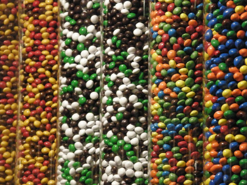 Abalorio en M&M'S World