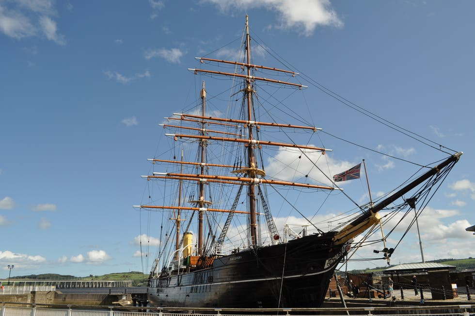 Training Ship in Dundee