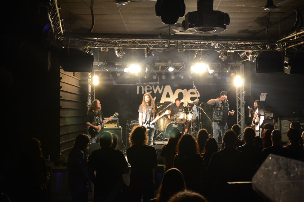 Sala de conciertos en New Age Club