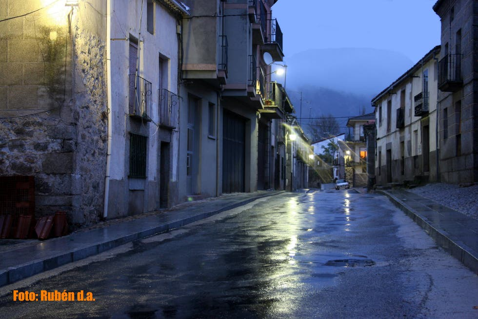 Morning in Villafranca de la Sierra