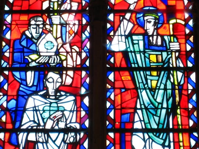 Glass in Coutances