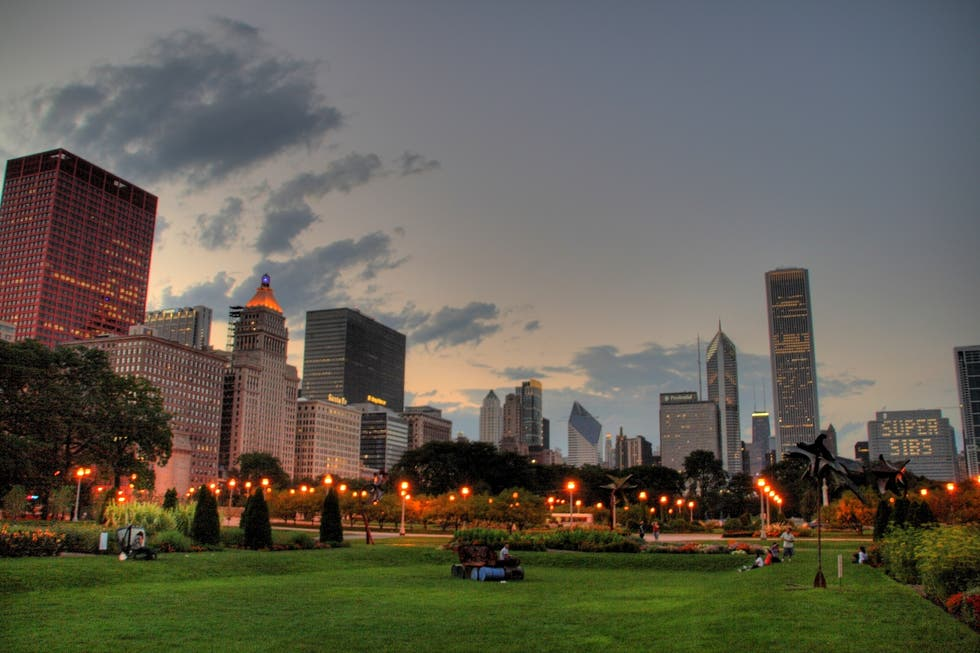 Skyline en Chicago