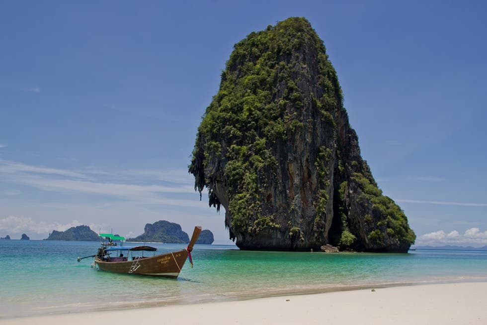 Isleta en Playa Railay