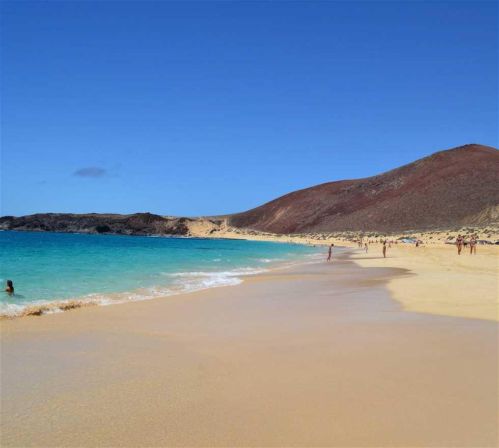 playas de la isla de la graciosa