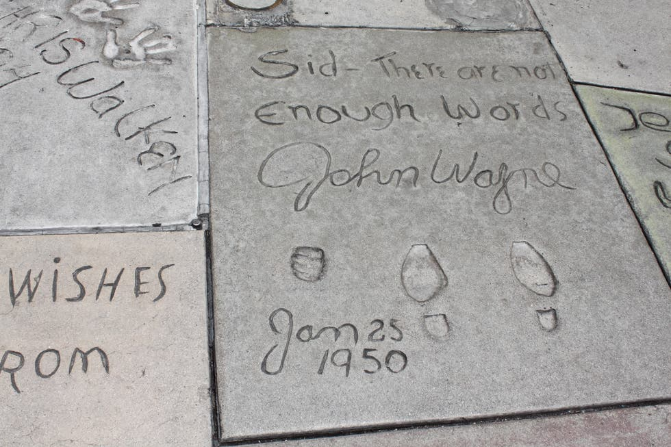 Memorial en Grauman's Chinese Theatre