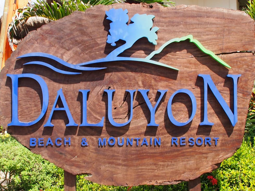 Señal en Daluyon Beach and Mountain Resort
