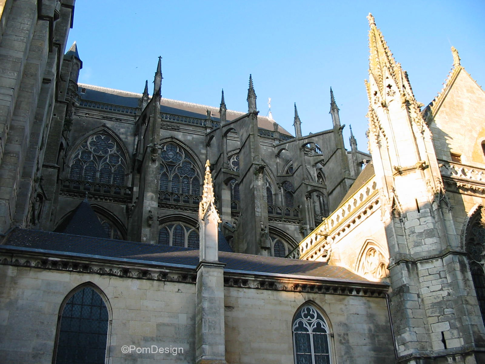 Cathedral in Le Mans