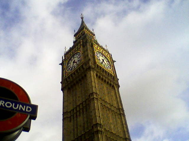 Tower in Big Ben