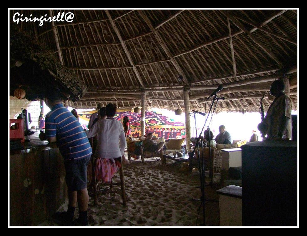 Ciudad en Forty Thieves Beach Bar
