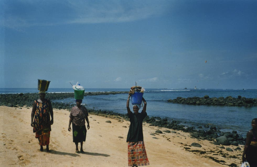 Playa en Senegal