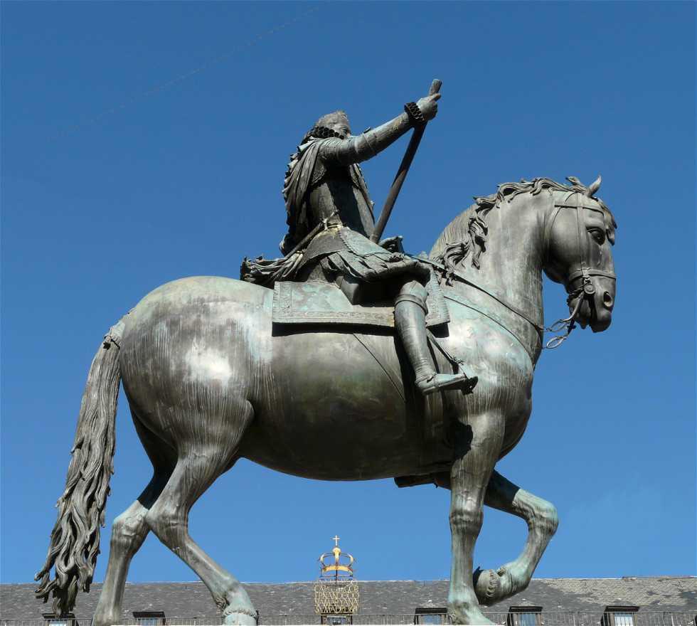 Escultura en Estatua ecuestre de Felipe III