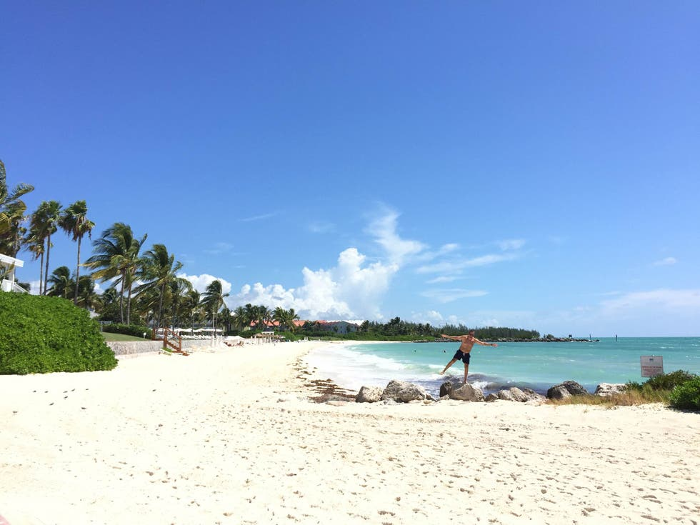 Playa en Memories Grand Bahama Beach Resort All-Inclusive