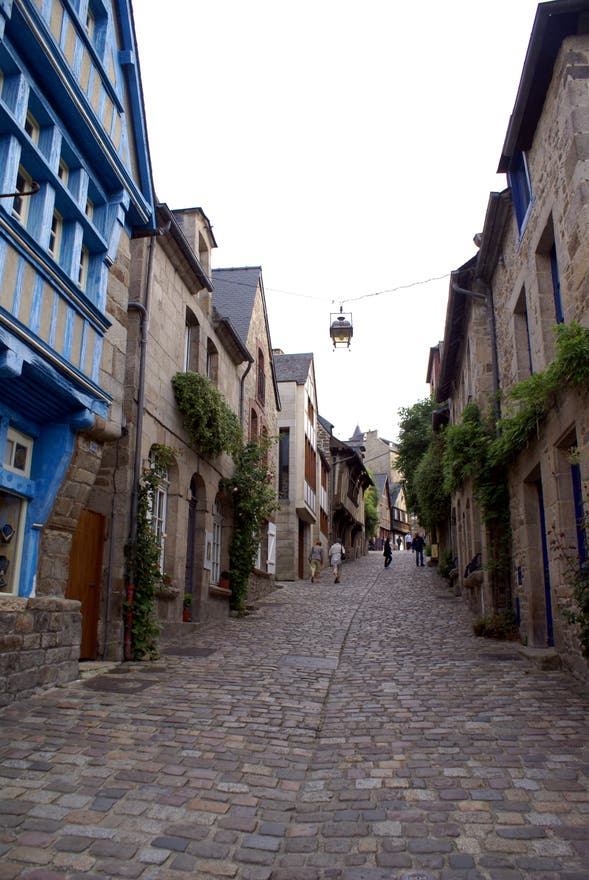 Street in Brittany