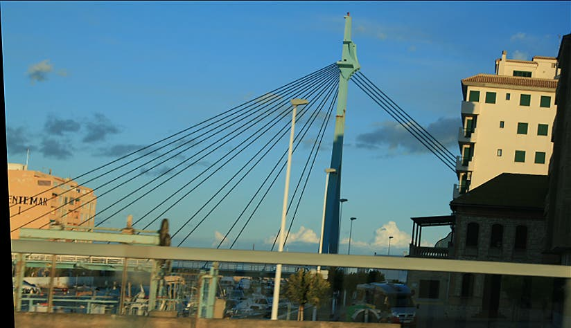 Cable Stayed Bridge in Sueca