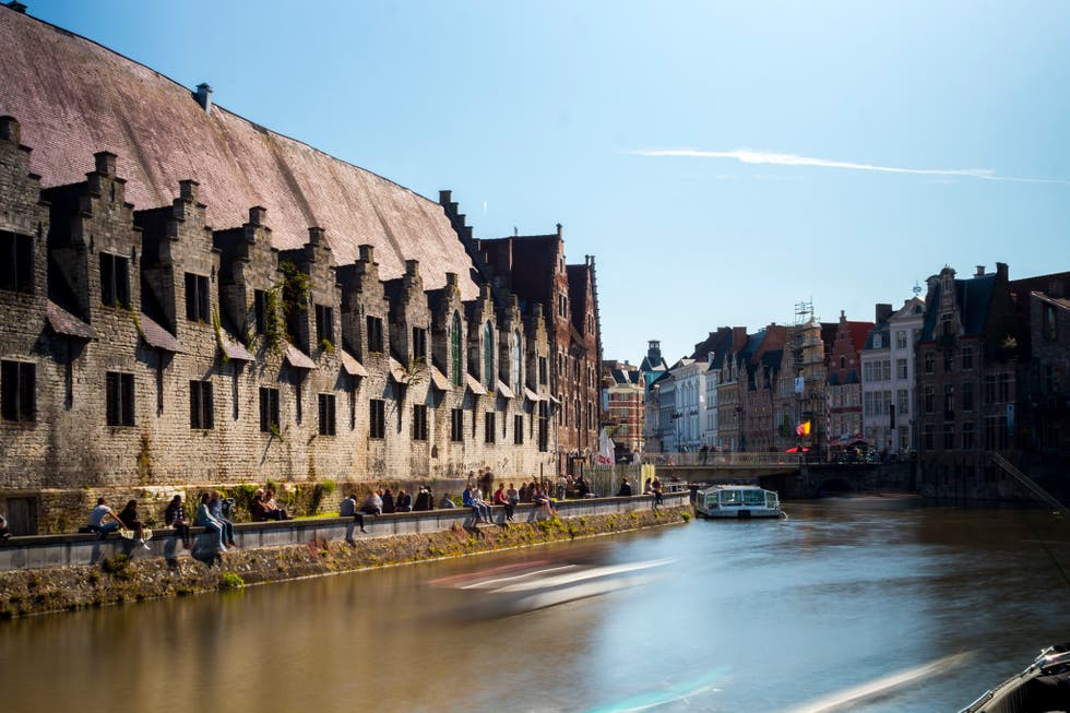 River in Ghent