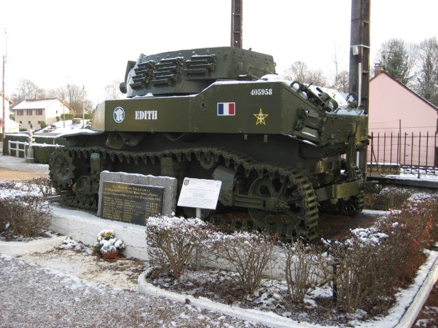 Tank in Andelot-Blancheville