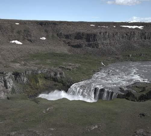 Costa en Cañón de Jokulsargljufur