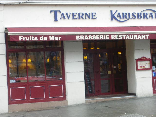 photos de brasserie restaurant ttaverne karisbrau galerie photos. Black Bedroom Furniture Sets. Home Design Ideas