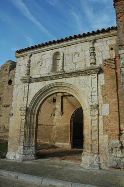 Ancient Roman Architecture in Moral de la Reina