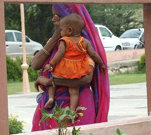 Persona en Jaipur