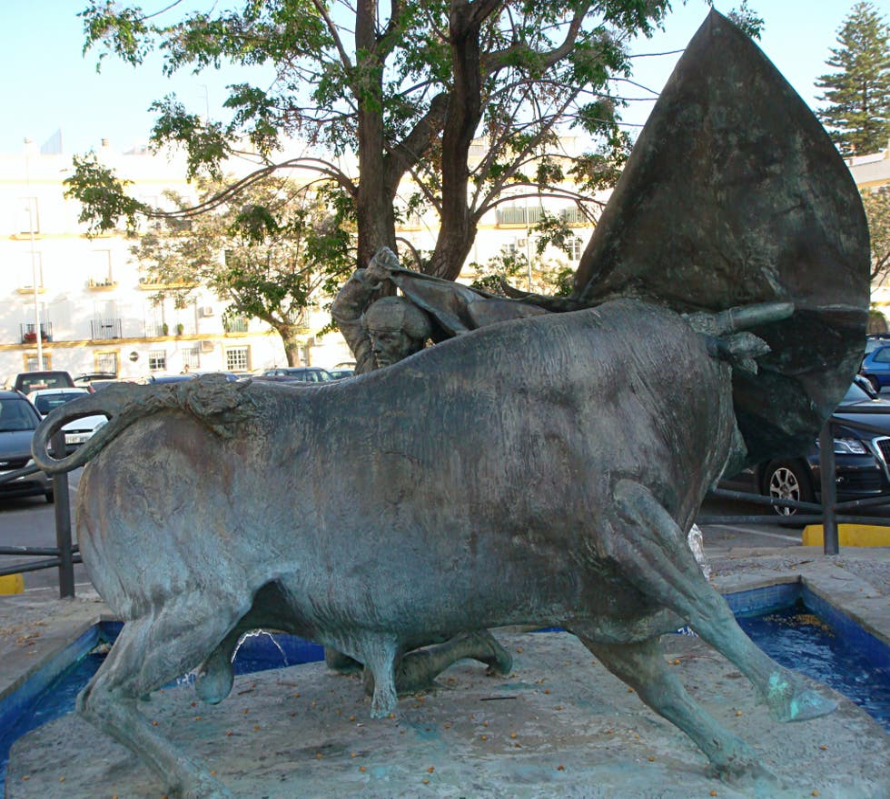 Estatua en Monumento a Paquirri