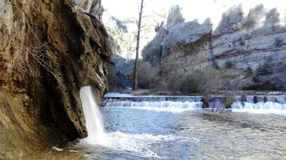 Waterfall in Pitarque