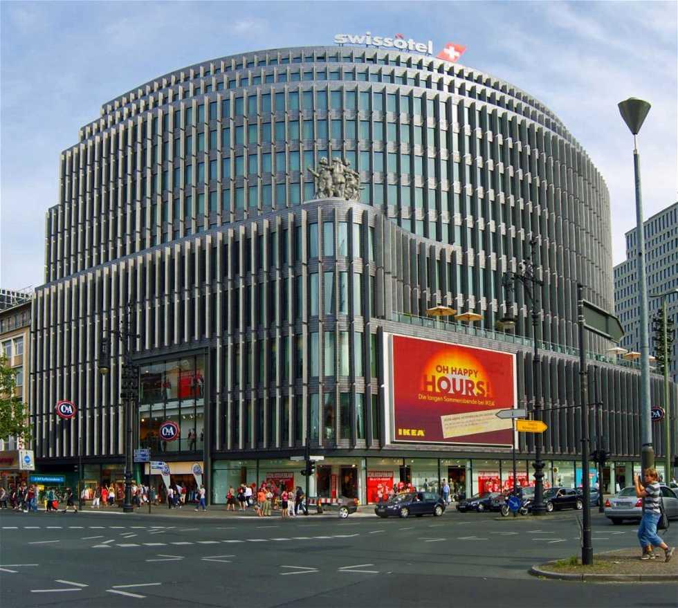 Centro comercial en Kurfürstendamm