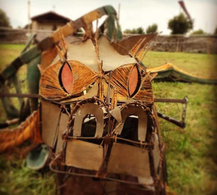 Arnés para caballo en Il Medioevo di Valvasone