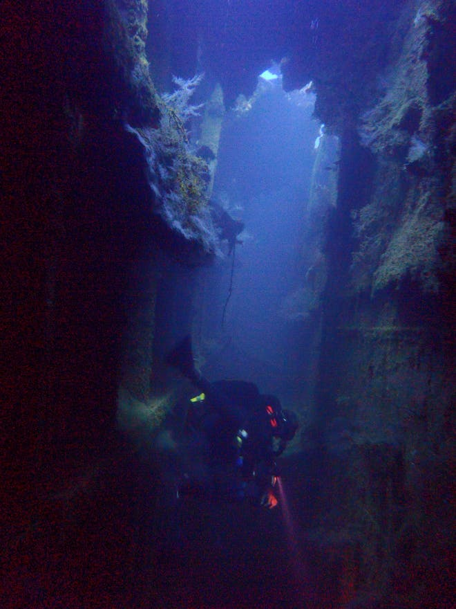 Submarino en Hotel Discovery Divers